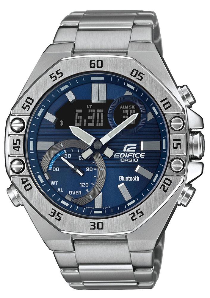 EDIFICE ECB-10D-2AEF - zegarek męski