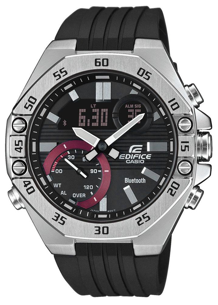 EDIFICE ECB-10P-1AEF - zegarek męski