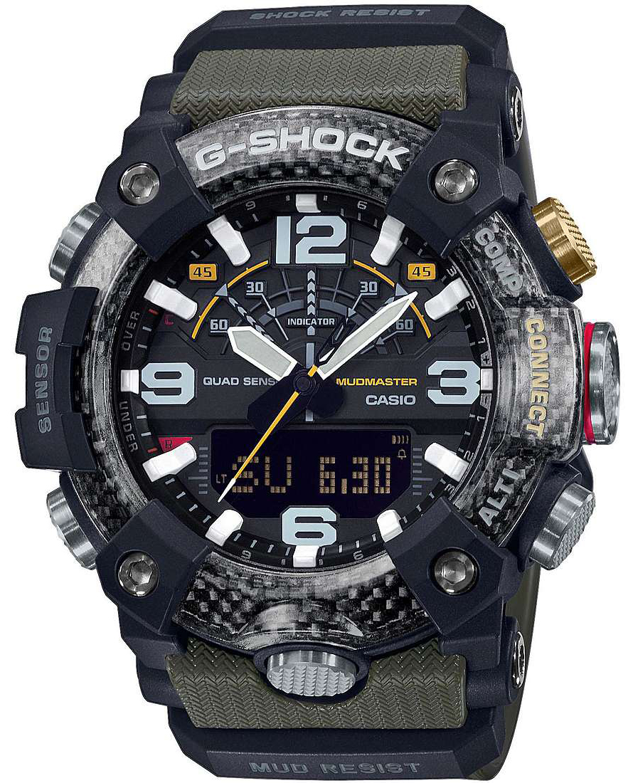 G-SHOCK GG-B100-1A3ER - zegarek męski