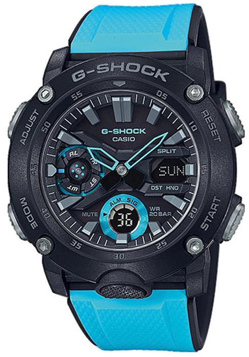 G-Shock GA-2000-1A2ER - zegarek męski