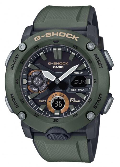 G-Shock GA-2000-3AER - zegarek męski