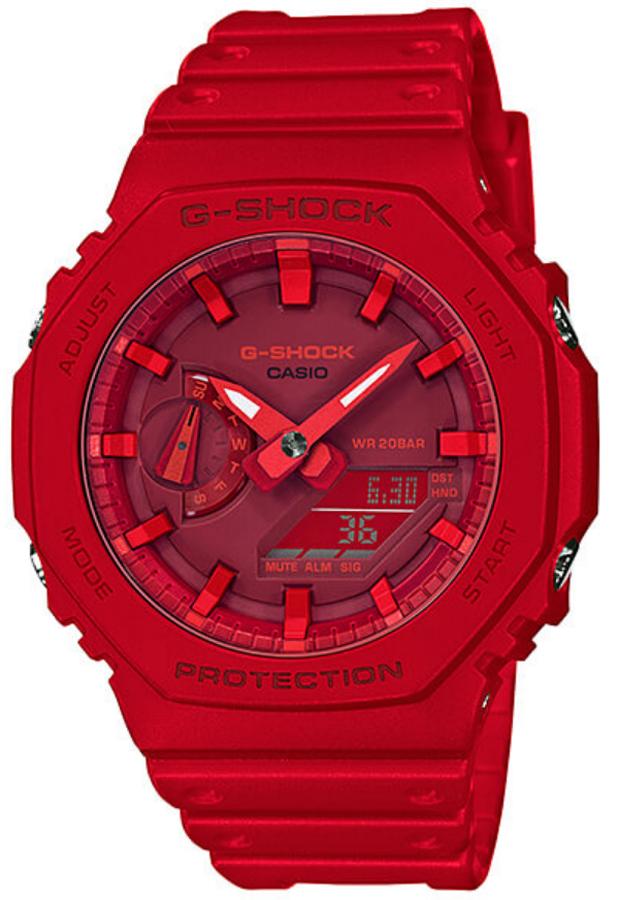 G-Shock GA-2100-4AER - zegarek męski