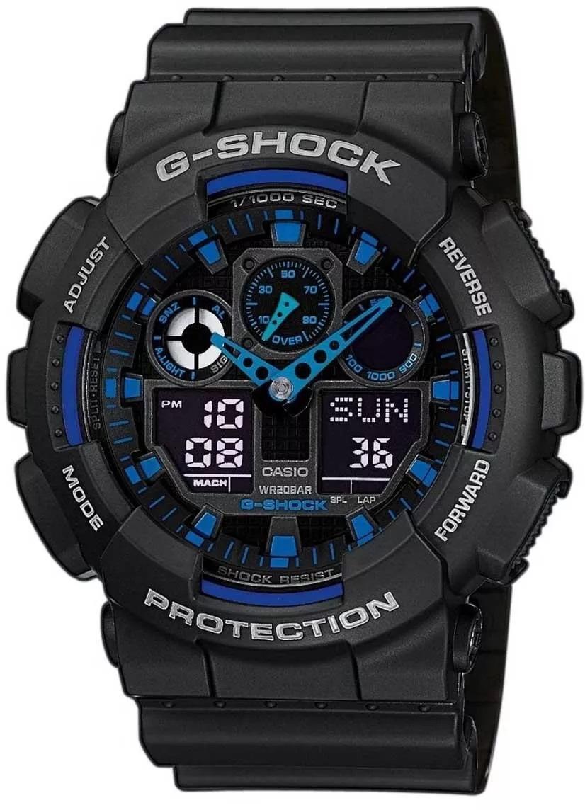G-SHOCK GA-100-1A2ER - zegarek męski