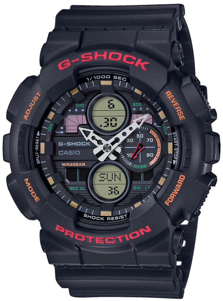 G-SHOCK GA-140-1A4ER - zegarek męski