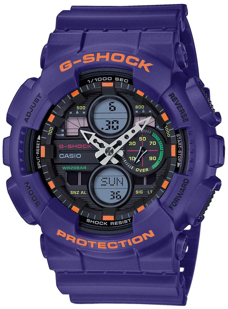 G-SHOCK GA-140-6AER - zegarek męski