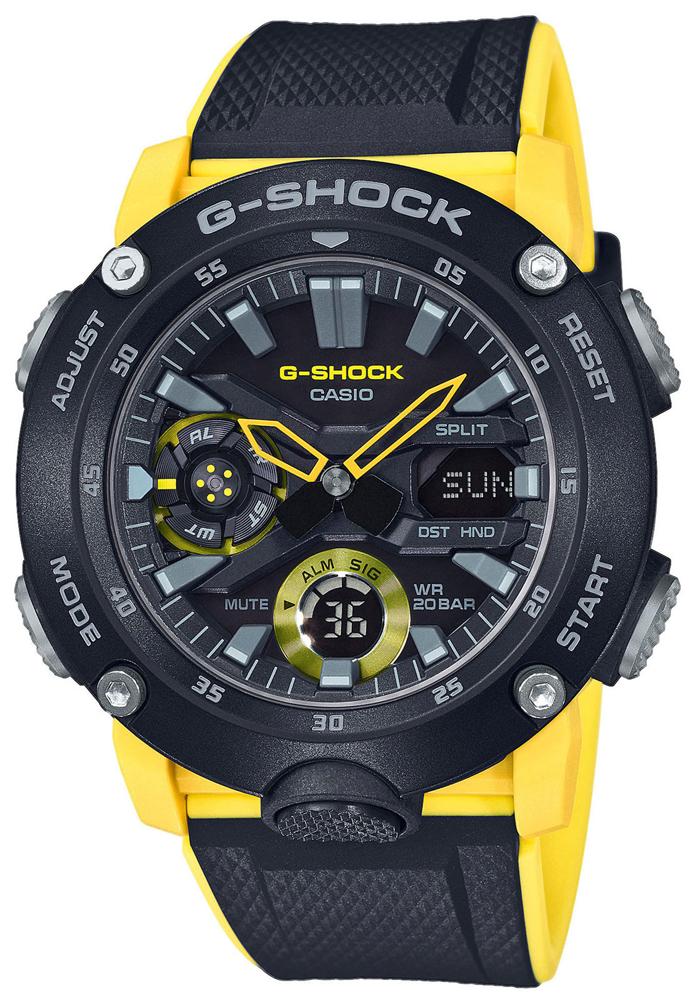G-Shock GA-2000-1A9ER - zegarek męski