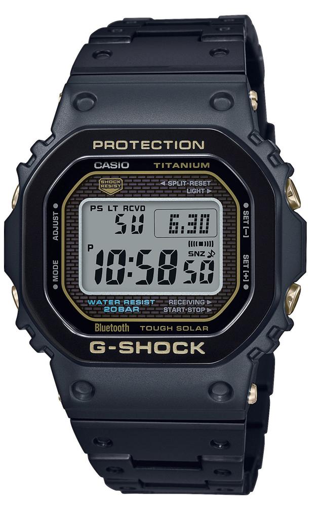 G-SHOCK GMW-B5000TB-1ER - zegarek męski
