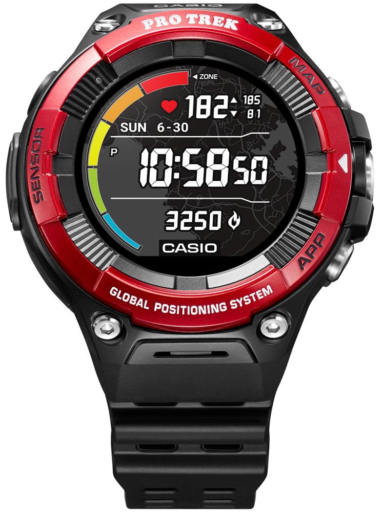 ProTrek WSD-F21HR-RDBGE - zegarek męski