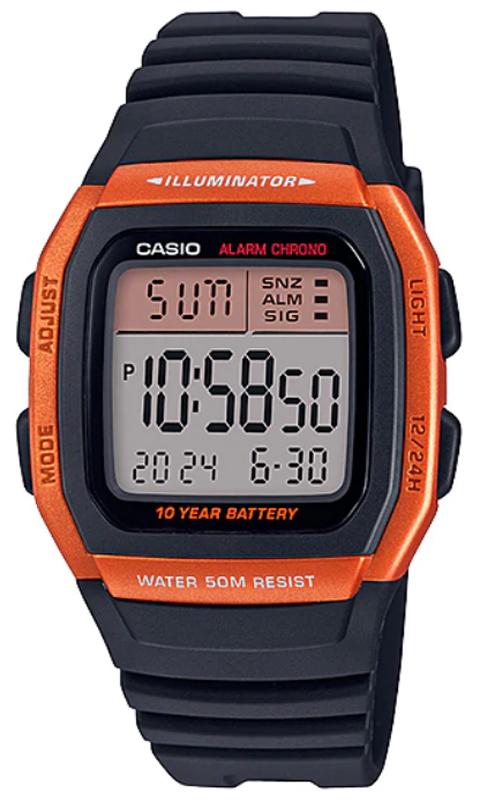 Casio W-96H-4A2VEF - zegarek męski