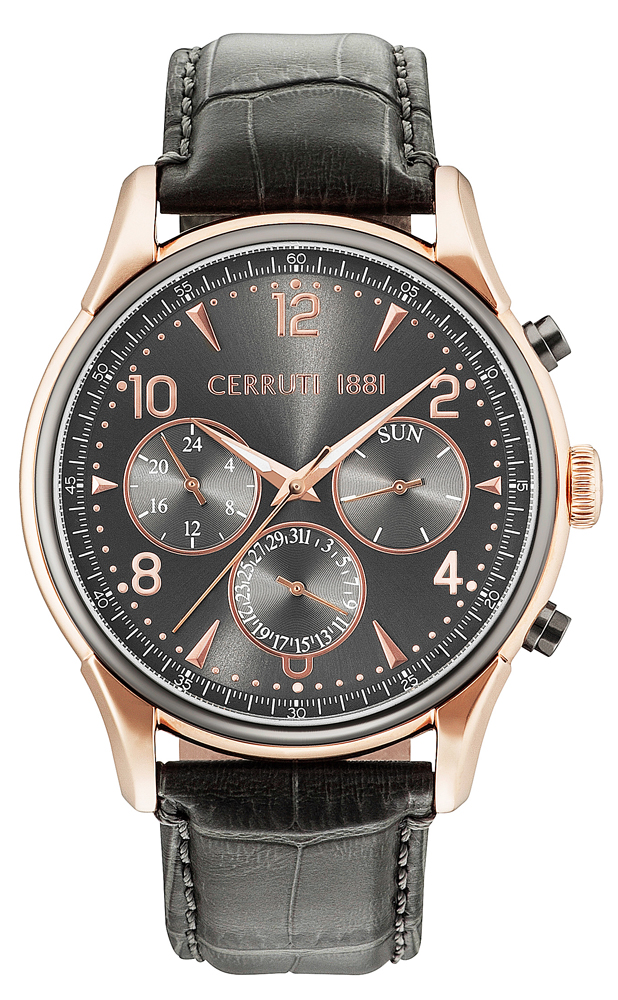 Cerruti 1881 CRA107SRU61GY - zegarek męski