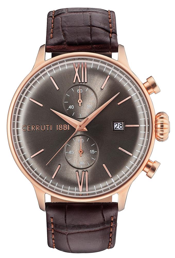 Cerruti 1881 CRA178SR13BR - zegarek męski