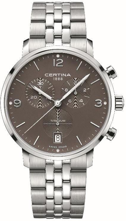 Certina C035.417.44.087.00 - zegarek męski