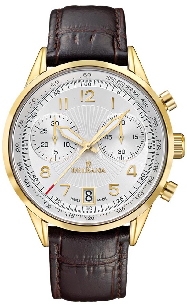 Delbana 42601.672.6.064 - zegarek męski