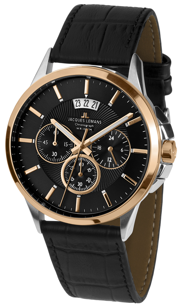 Jacques Lemans 1-1542C - zegarek męski