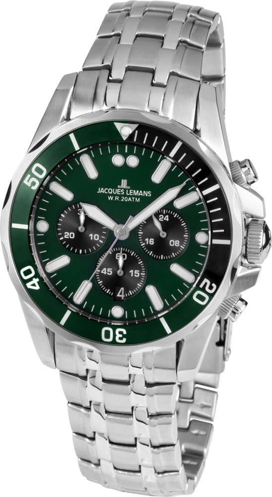 Jacques Lemans 1-1907ZG - zegarek męski