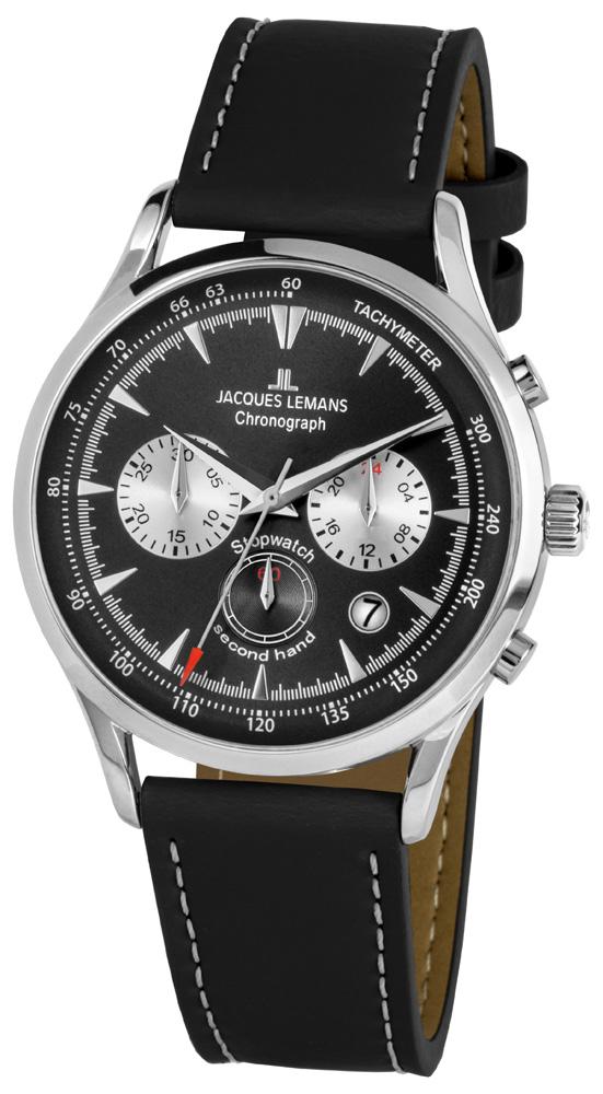 Jacques Lemans 1-2068A - zegarek męski