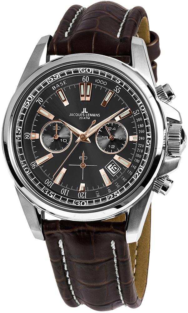 Jacques Lemans 1-1117.1WN - zegarek męski