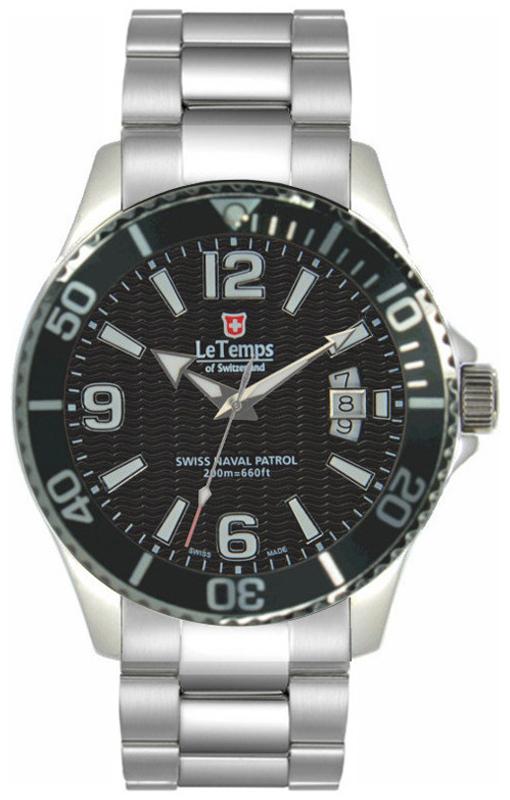 Le Temps LT1081.01BS01 - zegarek męski