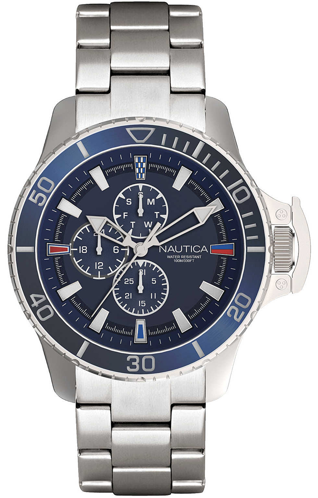 Nautica NAPBYS006 - zegarek męski