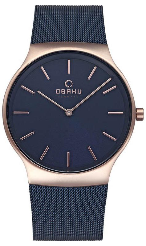 Obaku Denmark V178GXVLML - zegarek męski
