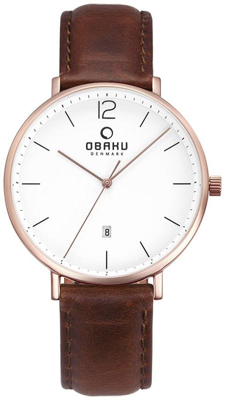 Obaku Denmark V181GDVWRN - zegarek męski