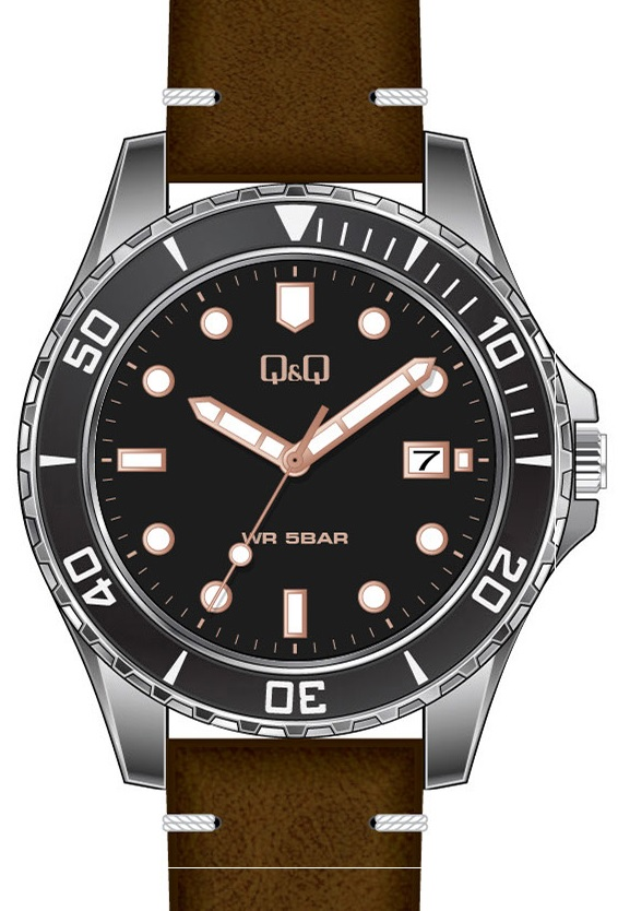 QQ A172-312 - zegarek męski