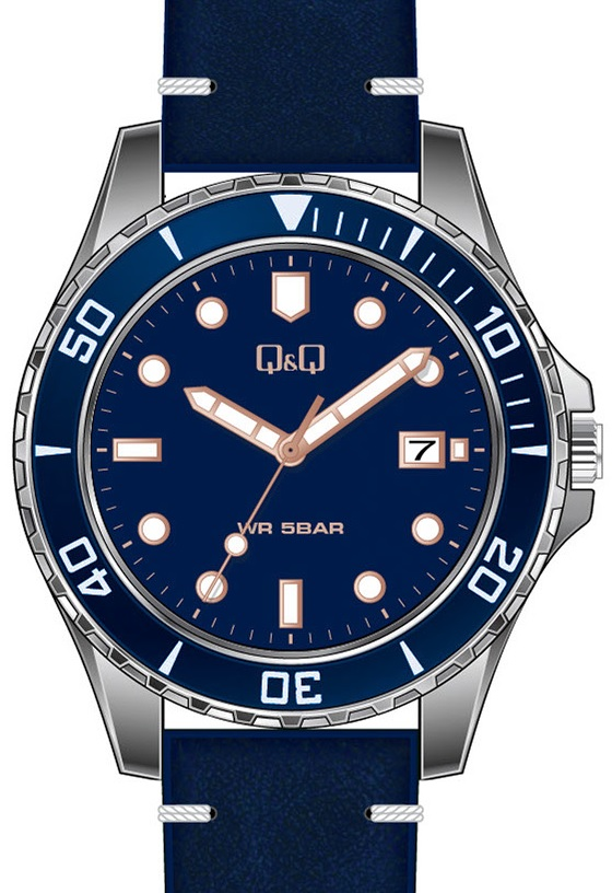 QQ A172-322 - zegarek męski