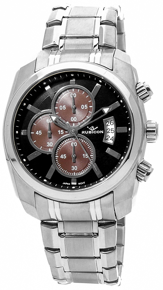 Rubicon RNDC55SIBY - zegarek męski