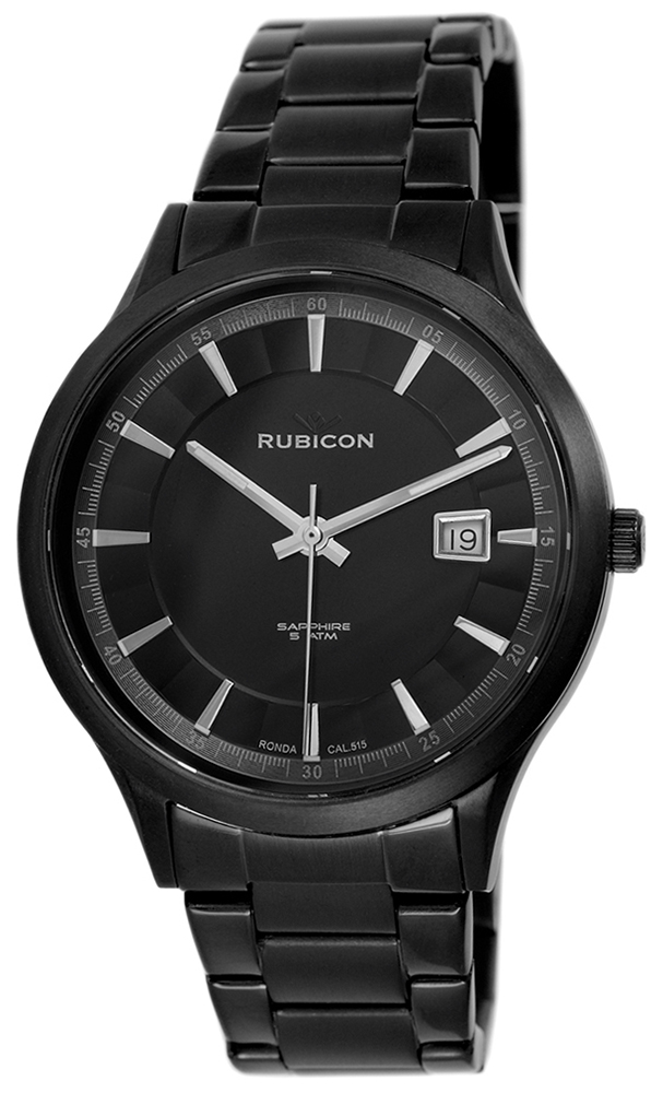 Rubicon RNDE08BIBX05BX - zegarek męski