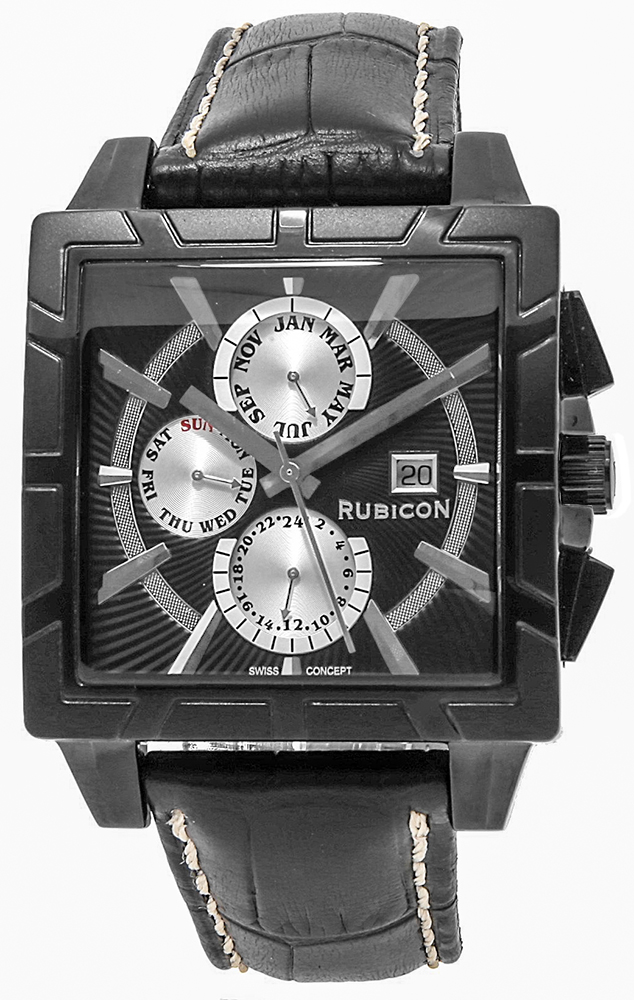 Rubicon RNCC24BIBS - zegarek męski