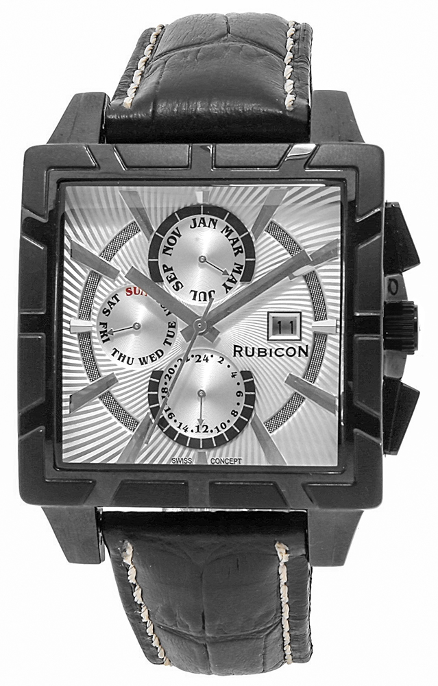 Rubicon RNCC24BISX - zegarek męski