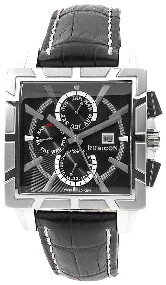 Rubicon RNCC24SIBX - zegarek męski