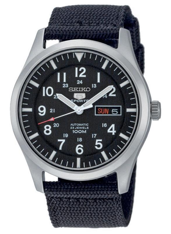 Seiko SNZG15K1 - zegarek męski