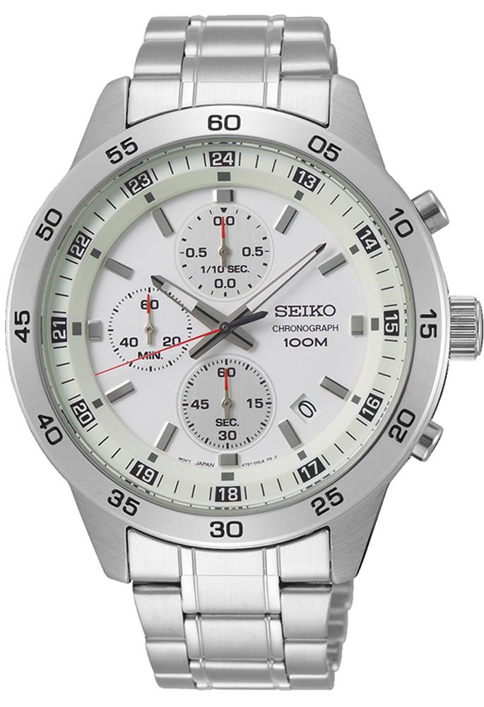 Seiko SKS637P1-POWYSTAWOWY - zegarek męski