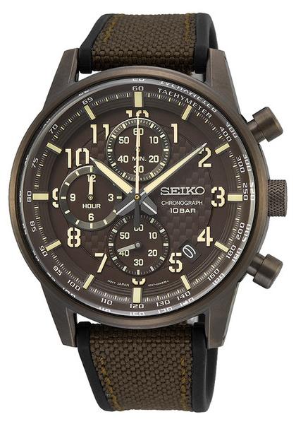 Seiko SSB371P1 - zegarek męski