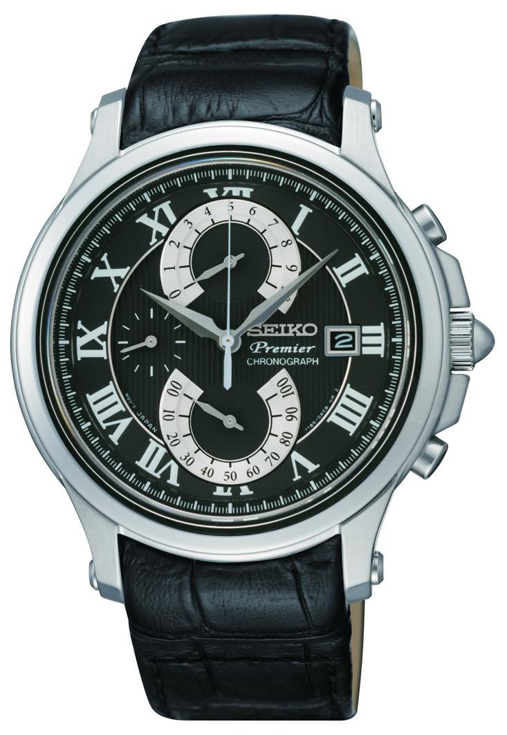 Seiko SPC067P2-POWYSTAWOWY - zegarek męski