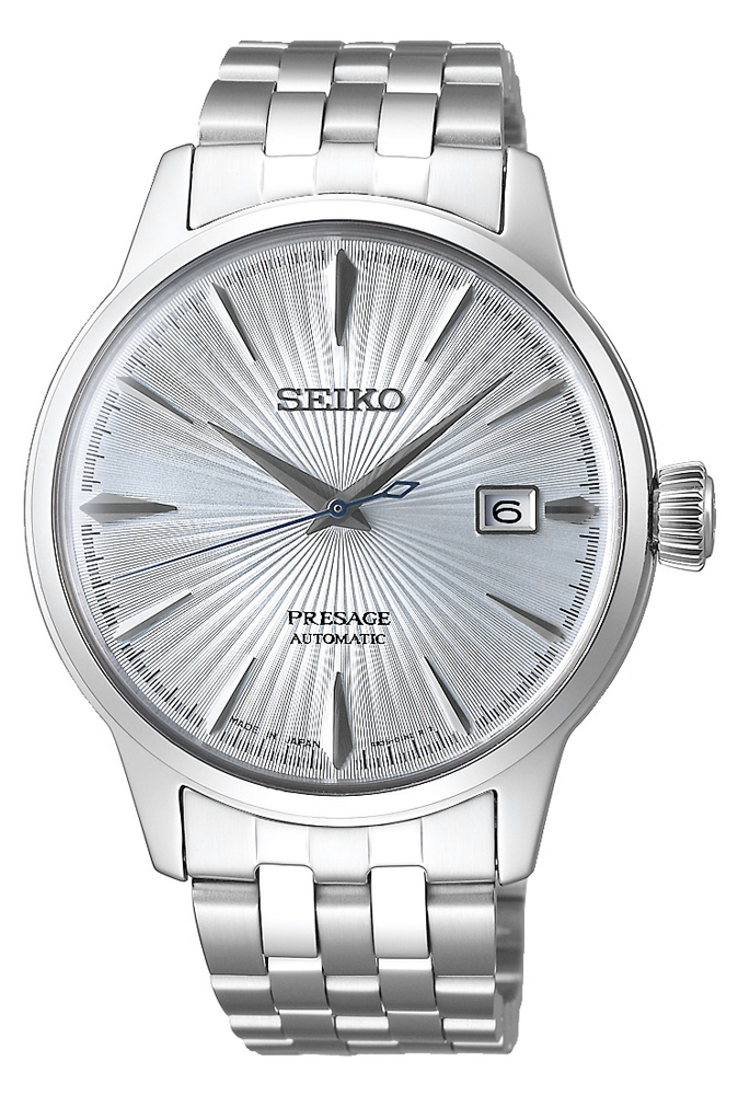 Seiko SRPE19J1 - zegarek męski