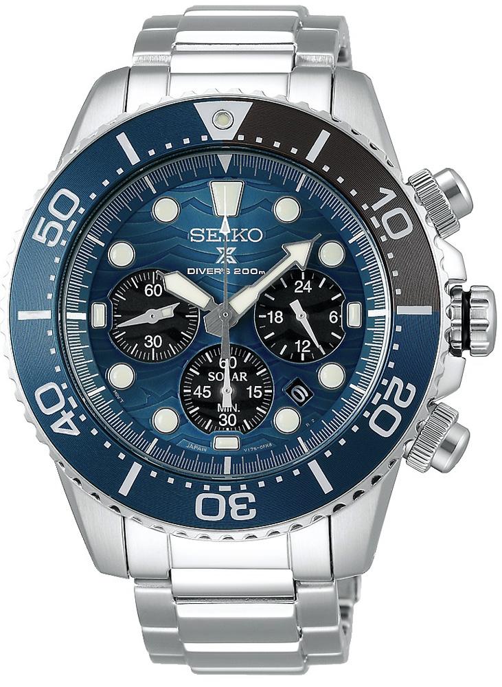 Seiko SSC741P1 - zegarek męski