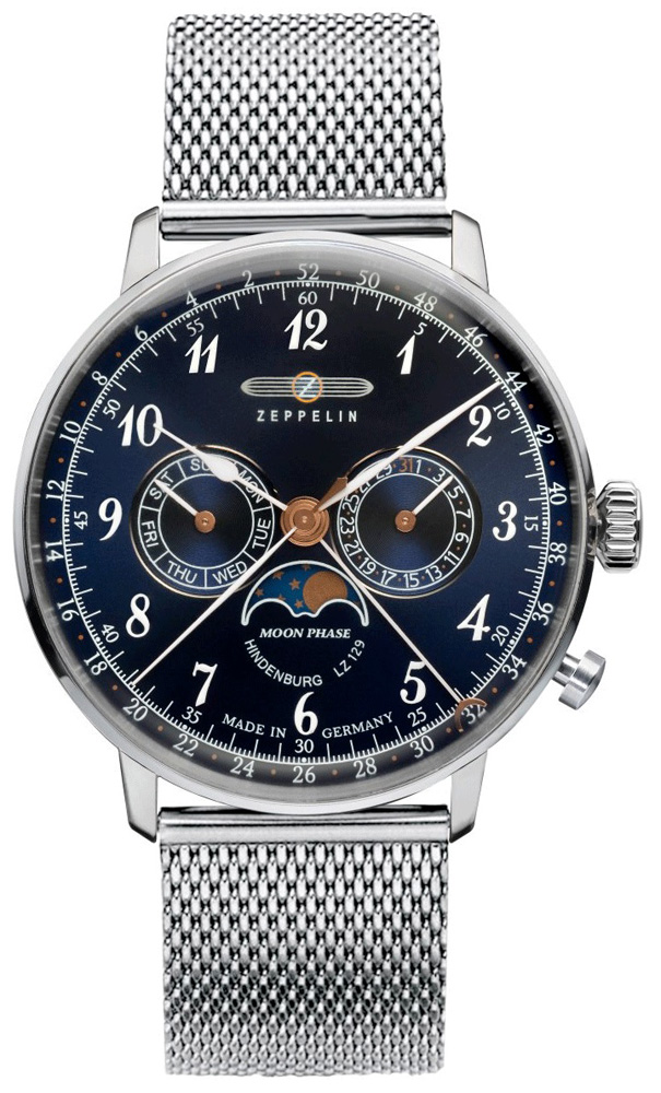 Zeppelin 7036M-3 - zegarek męski