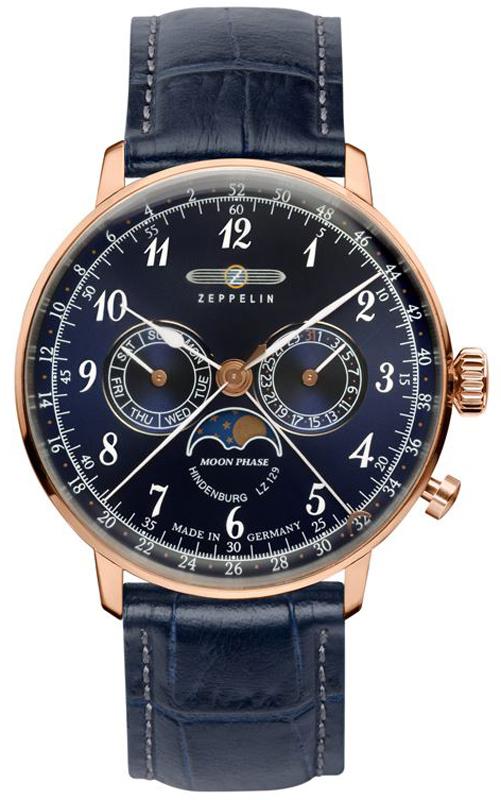 Zeppelin 7038-3 - zegarek męski
