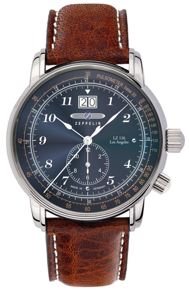 Zeppelin 8644-3 - zegarek męski