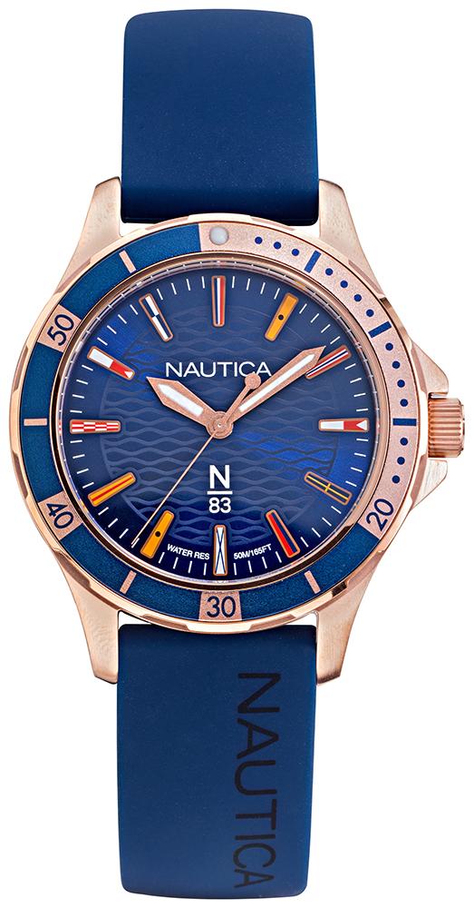 Nautica NAPMHS001 - zegarek damski