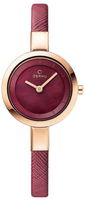 Obaku Denmark V129LVQRD - zegarek damski