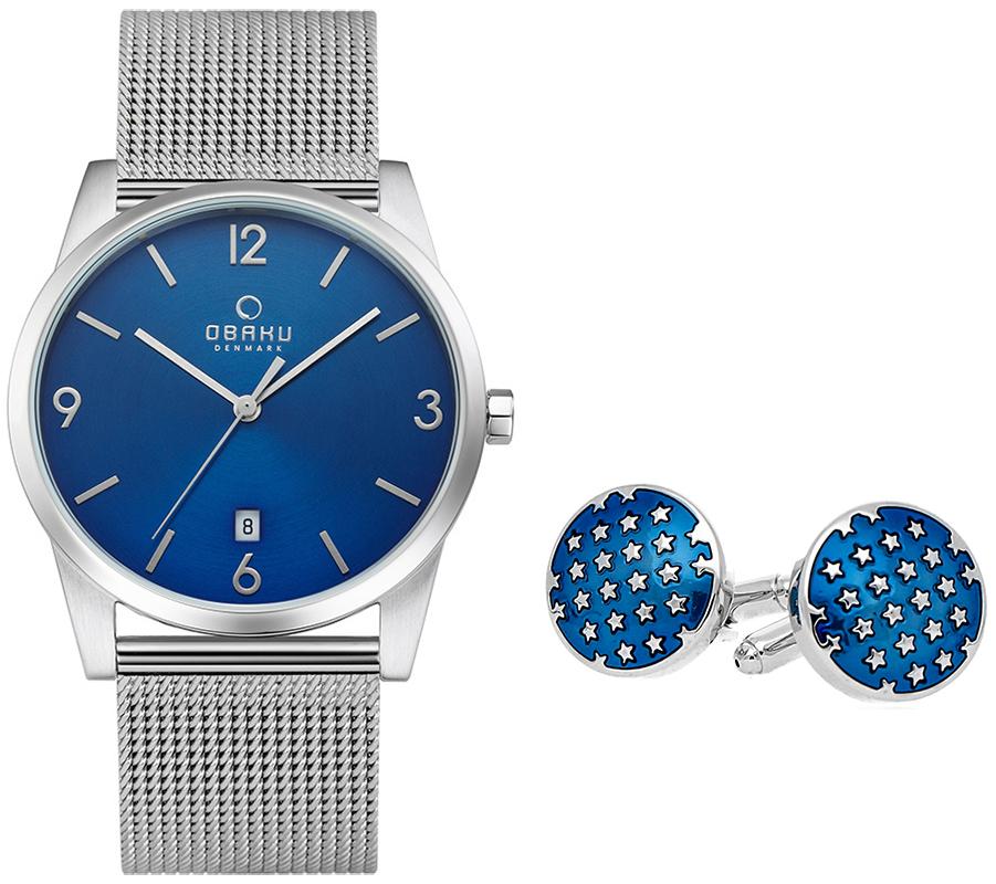 Obaku Denmark V169GDCLMC+spinki - zegarek męski
