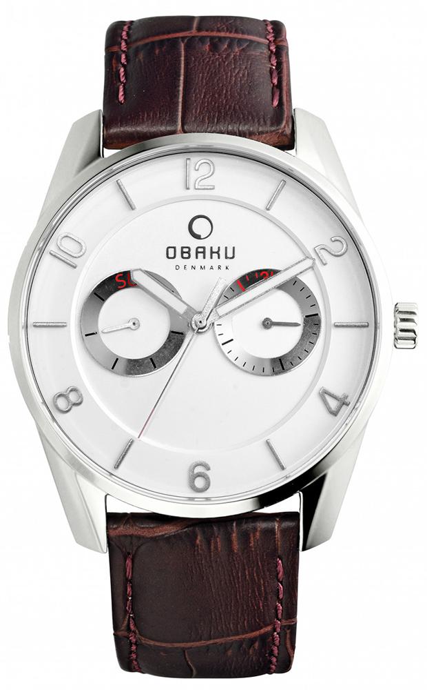 Obaku Denmark V171GMCIRN - zegarek męski