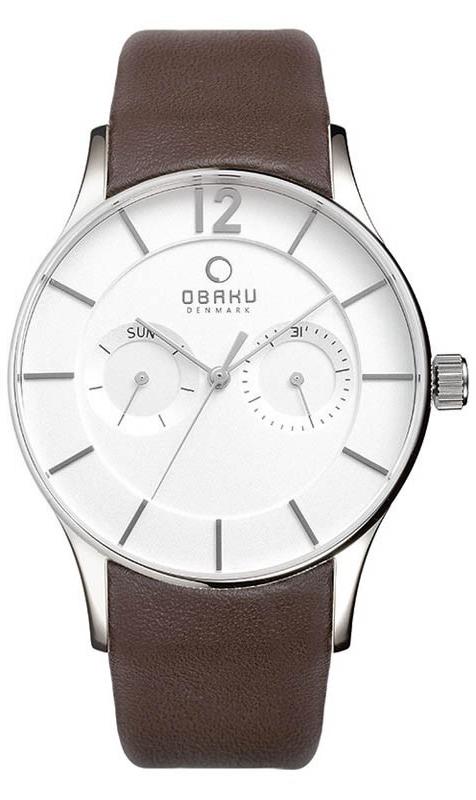 Obaku Denmark V175GMCIRN - zegarek męski