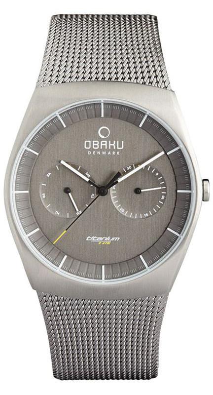 Obaku Denmark V176GMTJMJ - zegarek męski