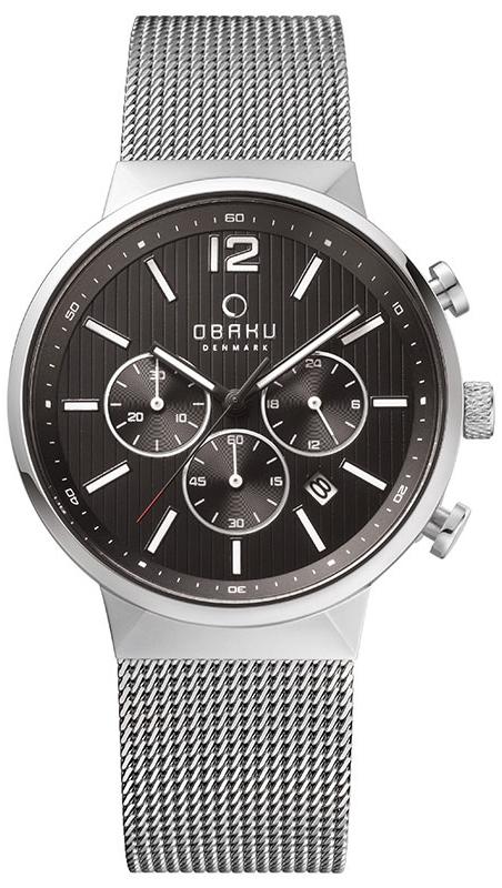 Obaku Denmark V180GCCBMC - zegarek męski