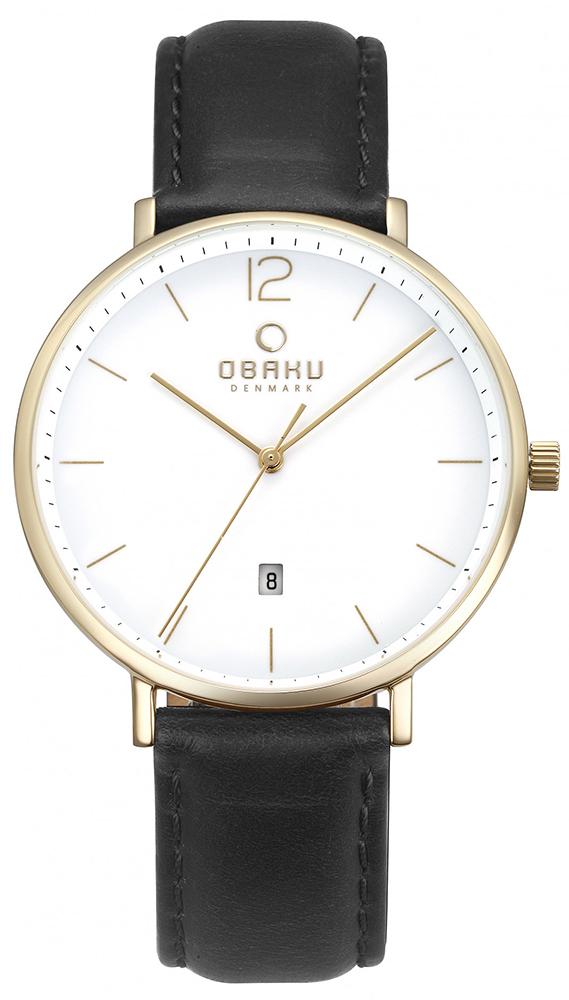 Obaku Denmark V181GDGWRB - zegarek męski