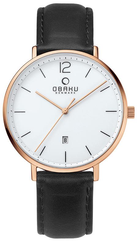Obaku Denmark V181GDVWRB - zegarek męski
